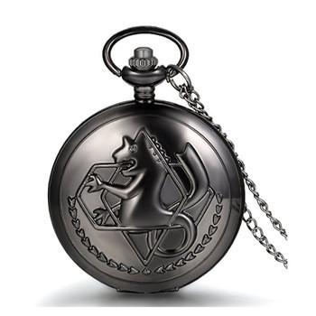 Кулон часы Эдварда - Стальной Алхимик