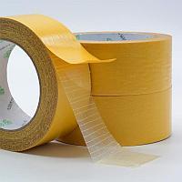 Клейкая лента (скотч) для ковролина (серая, армированная) (4,8см х25м)