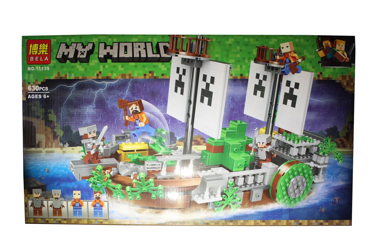 Лего майнкрафт My World 11139