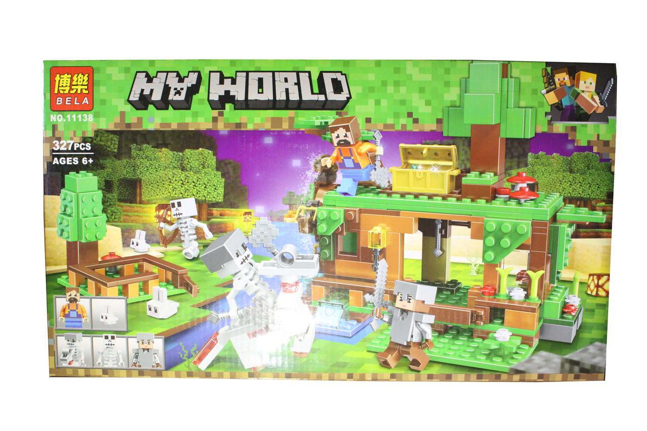 Лего майнкрафт My World 11138