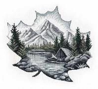 """Набор для вышивания крестом """"Наедине с природой"""""""