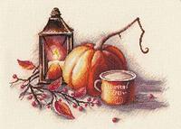 """Набор для вышивания крестом """"Осенний натюрморт """""""