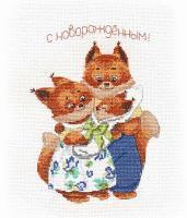 """Набор для вышивания крестом """"Счастливая семья """""""