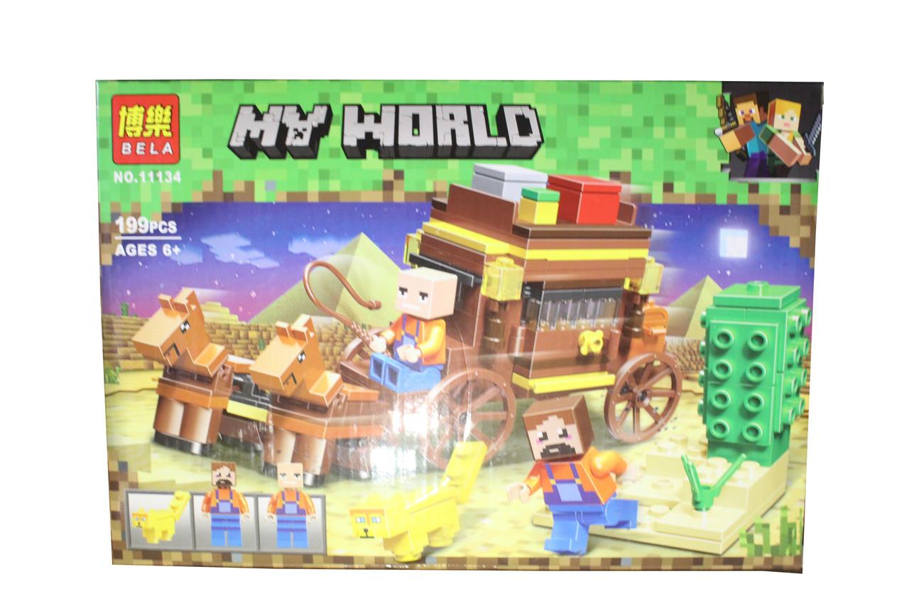 Лего майнкрафт My World 11134