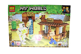 Лего майнкрафт My world 11133