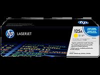 HP CB542A Картридж лазерный HP 125A желтый, ресурс 1400 стр