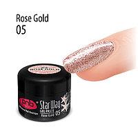 Гель паста PNB «Стар Вей», 05 Розовое золото, 5 мл
