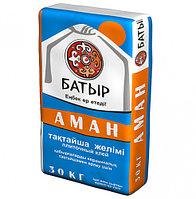 Кафельный клей Аман Батыр 25кг (для плитки)