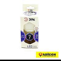 Лампа Е14 7Вт 6000К Р45 (6 месяцев гарантия) ЭРА LED