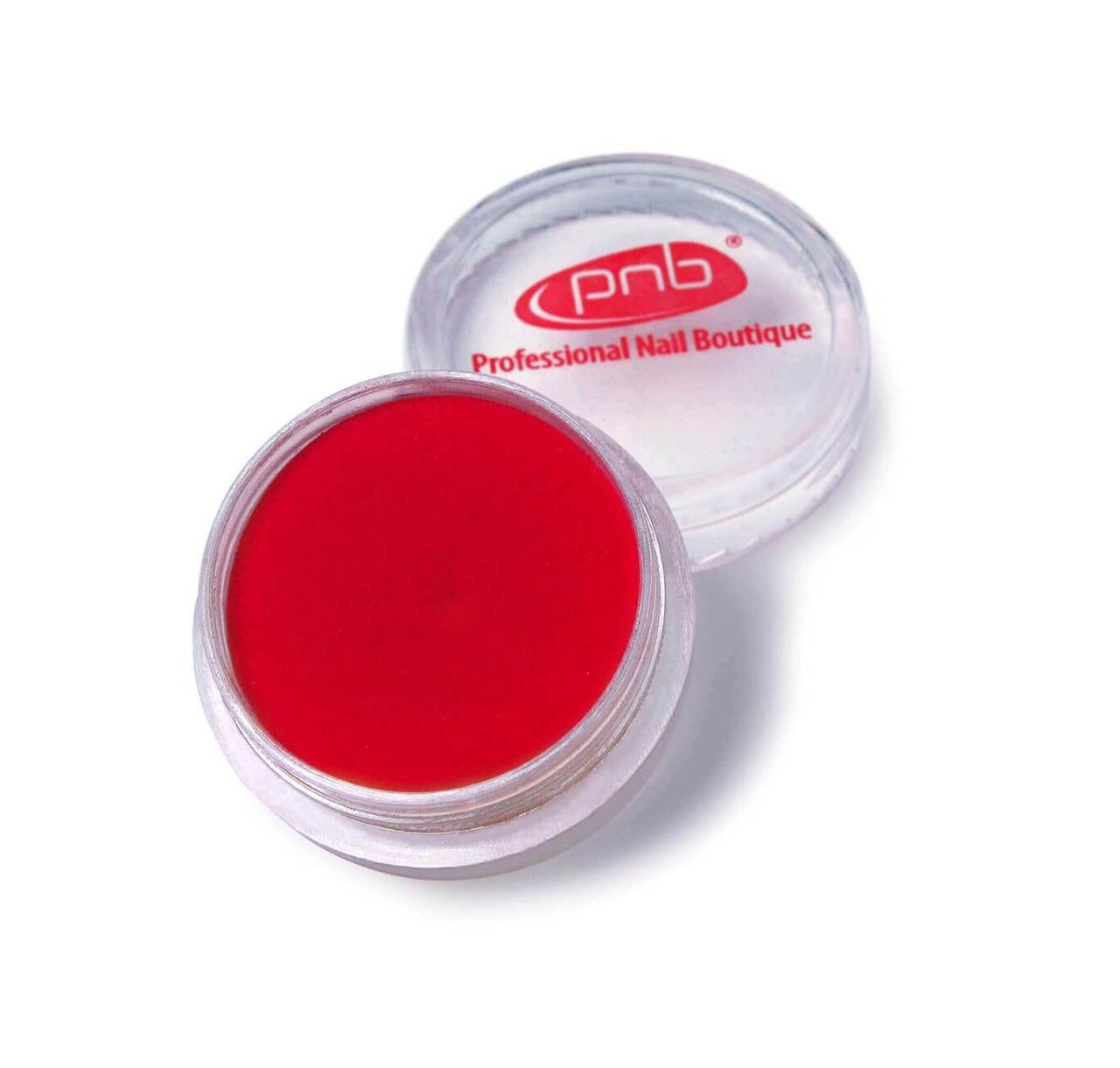 Цветная акриловая пудра PNB 05 красный