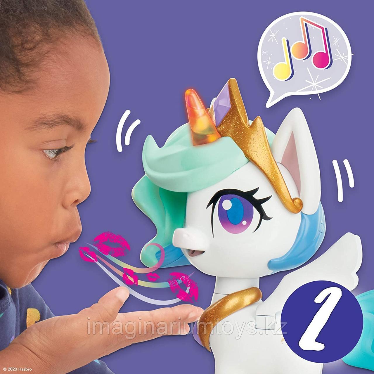 Интерактивный единорог Селестия My Little Pony - фото 9