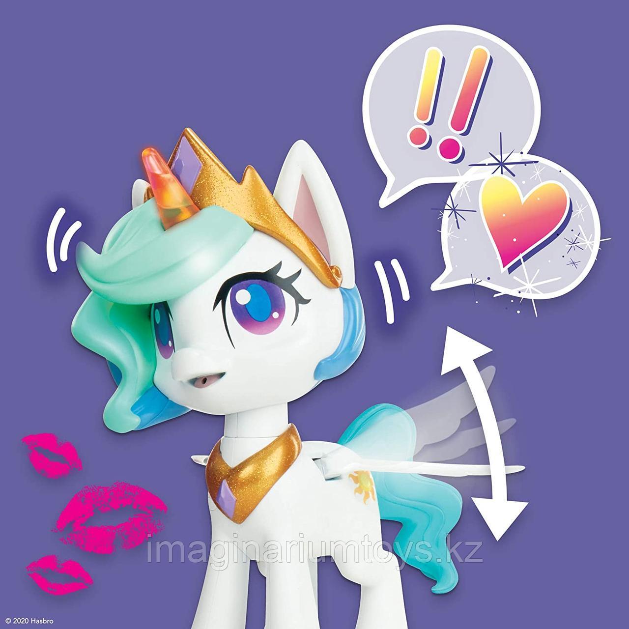 Интерактивный единорог Селестия My Little Pony - фото 6
