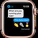 Watch Series 6, 40 мм, корпус из алюминия золотого цвета, спортивный ремешок цвета «розовый песок», фото 6