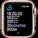 Watch Series 6, 44 мм, корпус из алюминия золотого цвета, спортивный ремешок цвета «розовый песок», фото 5