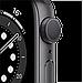Watch Series 6, 40 мм, корпус из алюминия цвета «серый космос», спортивный ремешок чёрного цвета, фото 3