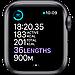 Watch Series 6, 40 мм, корпус из алюминия цвета «серый космос», спортивный ремешок чёрного цвета, фото 5