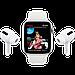 Watch Series 6, 40 мм, корпус из алюминия цвета «серый космос», спортивный ремешок чёрного цвета, фото 9