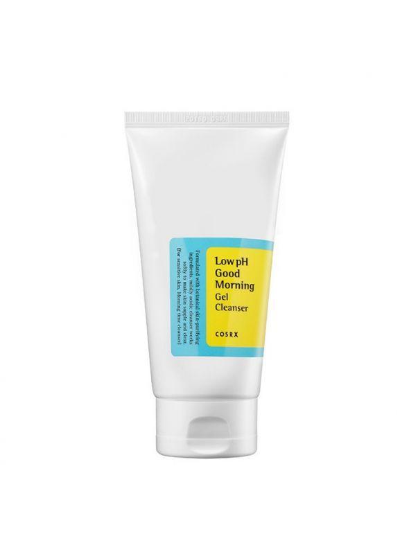 Гель для умывания с BHA-кислотами и низким pH COSRX Low pH Good Morning Gel Cleanser - фото 1