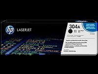 HP CC530A Картридж лазерный HP 304A черный, ресурс 3500 стр