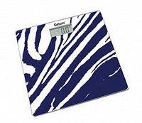 Весы напольные Saturn ST-PS0282 фиолетово-белый (Zebra)