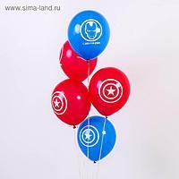 """Воздушные шары «С Днём Рождения», Мстители, 5 шт., 12"""""""