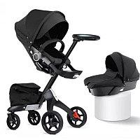 Детская коляска 2 в 1 DSLand V8 black