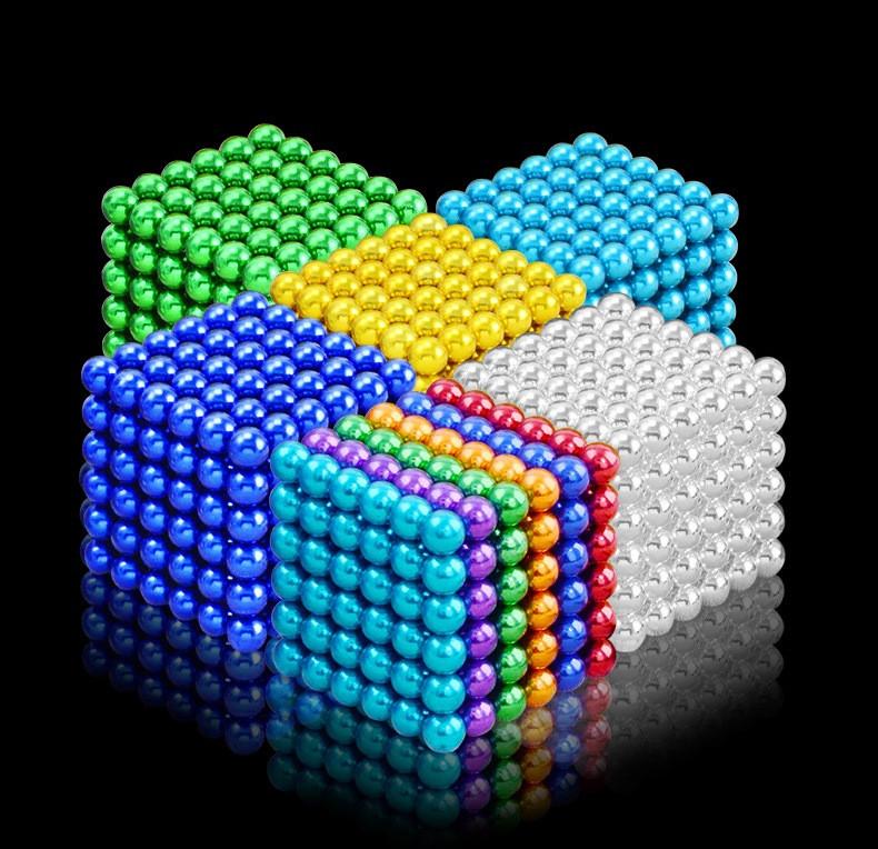 Магнитный Неокуб. Neocube. 216 шариков. Диаметр 5 мм. Головоломка. Конструктор. Антистресс.