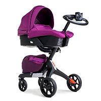 Детская коляска 2 в 1 DSLand V8 violet