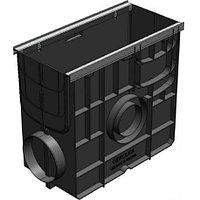 Пескоуловитель Gidrolica Standart ПУ-20.24,6.46 - пластиковый универсальный для лотков  DN150 и DN200