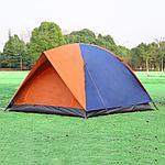 Палатка туристическая  двухслойная 200х200х135, фото 2