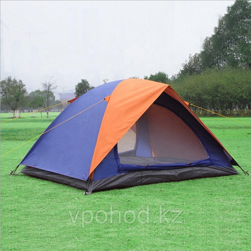 Палатка туристическая  двухслойная 200х200х135