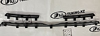 Защита радиатора (верх, 3 части) Лада Гранта FL, фото 1