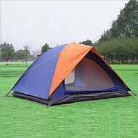 Палатка туристическая двухслойная 250х250х150