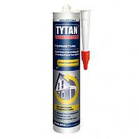 Герметик силиконовый универсальный Tytan коричневый , 310 мл