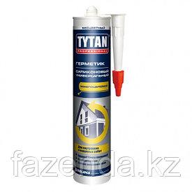 Герметик силиконовый универсальный Tytan  серый , 310 мл