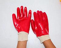 Перчатки ХБ с нитриловым обливом, манжет