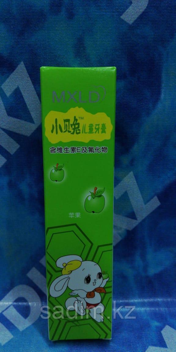 Детская зубная паста MXLD - яблоко