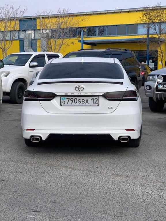 Наши клиенты✔ г.Актау Camry V70 Установили задние фонари Lexus style✔ Спойлер S-edition✔ Диффузор на задний бампер✔ #camry70 #camry2018
