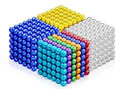 Neocube - магнитный Неокуб. 216 шариков. Диаметр 6 мм. Головоломка. Конструктор. Антистресс.