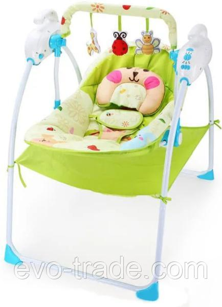Качели Baby Cradle голубой