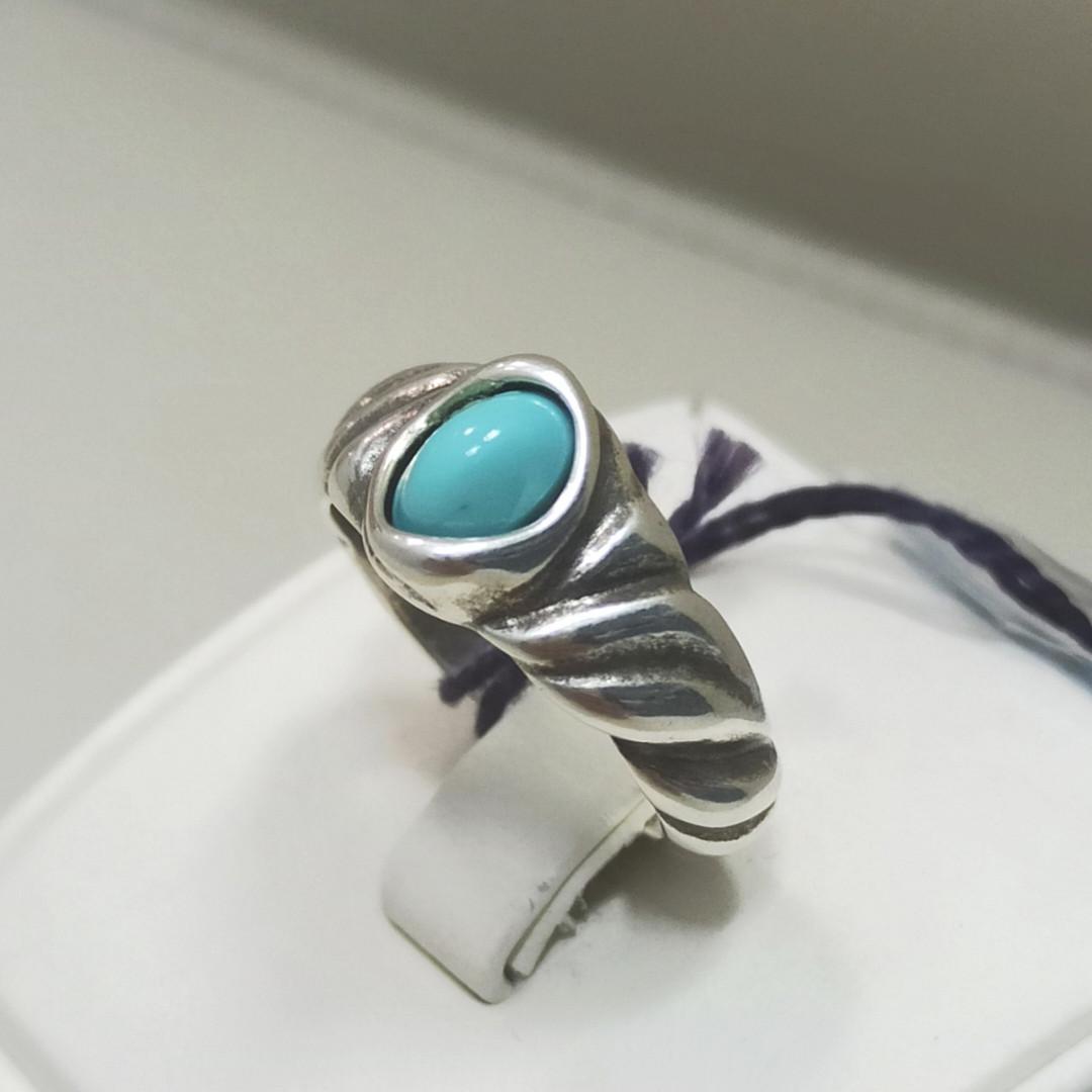 Кольцо / Indian Secret - бирюзовый (18 размер) ЕВ60