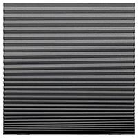 Жалюзи плиссе ШОТТИС , блокирующие свет, темно-серый 100x190 см