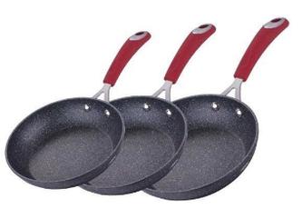 Набор сковород Berlinger Haus Black Stone Touch Line 3 предмета (BH-1175)
