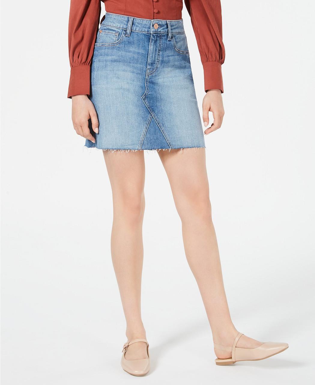 M1858 Женская джинсовая юбка - Е2