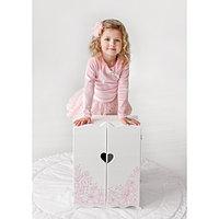 Шкаф игрушечный с дизайнерским цветочным принтом (коллекция «Diamond Princess»)