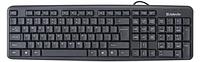 Клавиатура проводная Defender Element HB-520 KZ черный