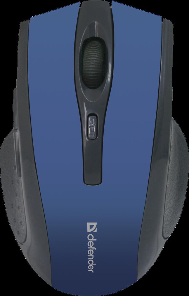 Мышь беспроводная Defender Accura Accura MM-665 синий
