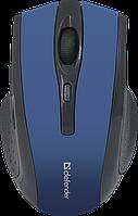 Мышь беспроводная Defender Accura Accura MM-665 синий, фото 1