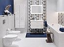 Кафель | Плитка настенная 20х44 Альрами | Alrami серый рельеф, фото 2