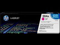 HP CC533A Картридж лазерный HP 304A пурпурный, ресурс 2800 стр